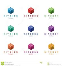 furniture logo design concept kitchen and other furniture