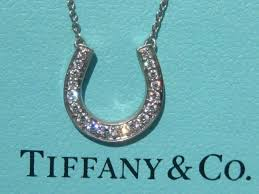 necklace diamond ebay images Tiffany co horseshoe horse shoe diamond platinum pt950 pendant jpg