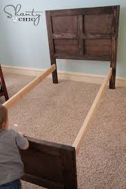 How To Build A Bed Frame And Headboard A Headboard Intended For Best 25 Diy Bed Frame Ideas