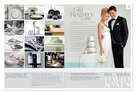 bridal registration david jones bridal gift registry press ads o brien