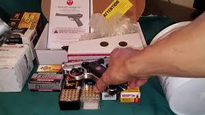 ruger mark iv 22 target stainless pistol youtube