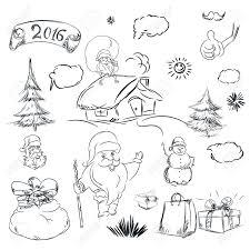 pencil sketch photo of santa claus santa claus welcome acting