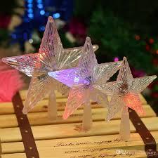 led twinkling stars led christmas star christmas decor lights