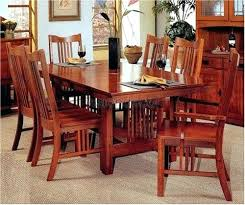 mission style dining room set mission style dining room set mission style table and chairs awesome