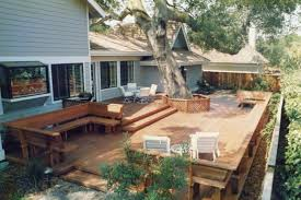 Backyard Decking Ideas by Backyard Deck Designs Plans Fanciful Deck Plans And Ideas Decking