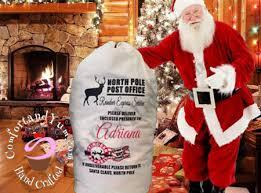 personalized santa sack personalized santa sacks comfort yum