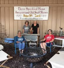 Backyard Shows Three Speckled Hens Blog