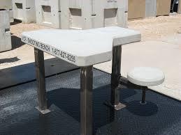 Plans For A Shooting Bench Precast Concrete Shooting Benches