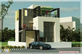 beautiful modern contemporary house 3d renderings kerala home