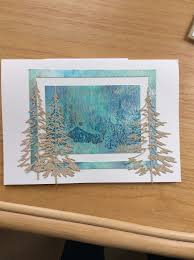 79 best sizzix woodlands images on cards winter