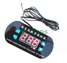 ac 220v led digital thermostat temperature alarm controller meter