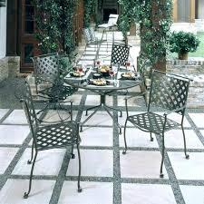woodard patio furniture replacement cushions wrought iron dining