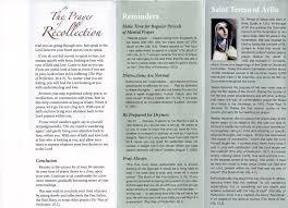 St Teresa Of Avila Interior Castle Ocds Prayers Ocds Carmelites Barrington Ri
