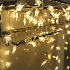led garland christmas lights 220v 110v 10m 100 led garland string lights five pointed star shape