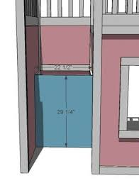 Plans For Building A Loft Bed With Stairs by Ana White Build A Storage Stairs For The Playhouse Loft Bed