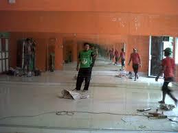 Cermin Senam langsing senam aerobic di klub nutrisi