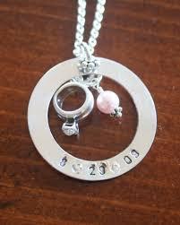 wedding gift necklace pendant wedding gifts wedding anniversary