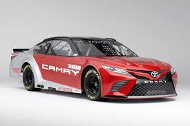 a toyota it may say u0027camry u0027 on the front but toyota u0027s nascar racer is a