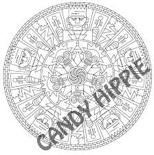 frank u0027n u0027 friends halloween mandala candyhippie coloring pages