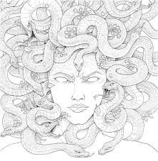 into the mythic with mythomorphia a coloring book for adults