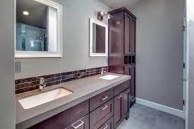 White And Gray Bathrooms Bathroom Black Bathroom Vanity Elegant Design Trends Mirror