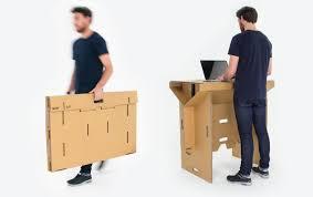 bureau pliable refold le bureau debout en