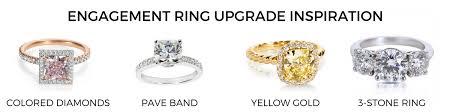 upgrading wedding ring engagement ring inspiration
