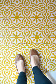 Kitchen Stencil Designs by Eclectic Farmhouse Foyer One Room Challenge Reveal