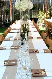 how to make burlap table runners for round tables wedding table runner ideas wedding table runners for round tables