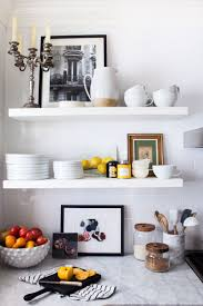 open shelf styling in the kitchen michelle adams u0027 ann arbor mi