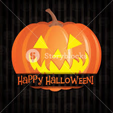 jack o u0027 lantern container full of candies halloween vector