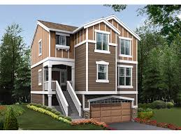 narrow lot house plans craftsman nona heights narrow lot home plan 071d 0019 house plans and more