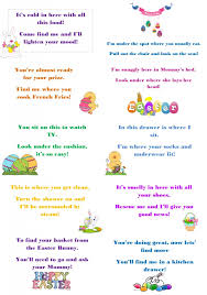 easter scavenger hunt make this easter egg stra special with egg hunt riddles easter