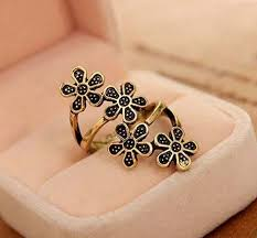 finger ring designs for flower finger ring code j31 priyoshop online shopping