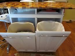 Kitchen Island With Trash Bin Best Of Kitchen Island With Trash Can Gl Kitchen Design
