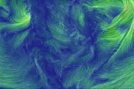 earth wind map earth wind map turns weather data into neon the verge