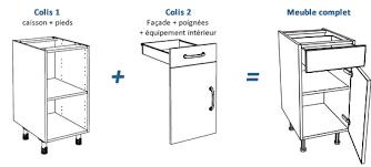 meubles de cuisine en kit cuisine en pin pas cher sur lareduc com meubles de kit newsindo co