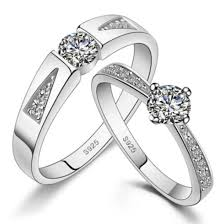 Engravable Rings Jewels Couples Rings His And Hers Rings Wedding Rings