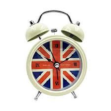 Small Desk Clock 2 5 Small Loud Alarm Clock Hippih Non Ticking Quartz