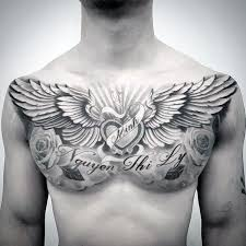 40 wing chest designs for freedom ink ideas chest