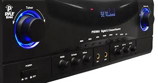 budget home theater receiver amazon com pyle pt570au 5 1 channel amplifier receiver 350 watts