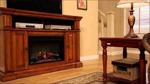 tv stand with fireplace lowes shop fireplaces at