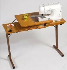 fold away sewing machine table pfaff horn hide away sewing machine table is great value