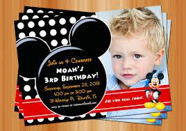 mickey mouse birthday party invitations stephenanuno com