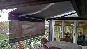 Roll Up Awnings Decks Outdoor Enclosed Spaces