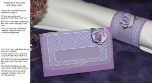 place setting template sample embossed u0026 easyedge cards created with pca easy templates