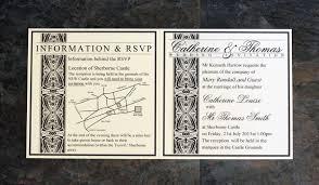 bifold personalised bespoke wedding invitations a s invites