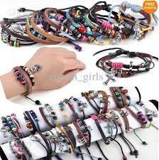 braided leather bracelet women images 2018 multi styles men women braid leather cord bead cross heart jpg