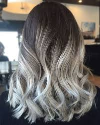wash hair after balayage highlights 11 best black roots grey hair images on pinterest colourful hair