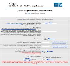 how to upload to gedmatch u2014 your dna guide